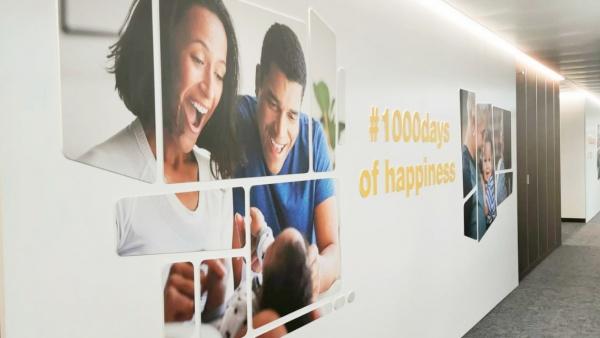 La sede di Nestlé Infant Nutrition a Vevey ripensata creativamente da All Things Communicate per valorizzare il brand e aumentare l' engagement dei dipendenti