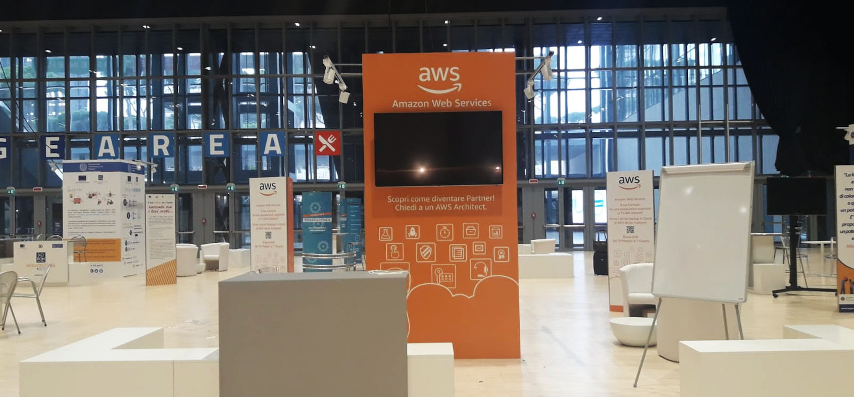 Stand Amazon Web services Forum PA