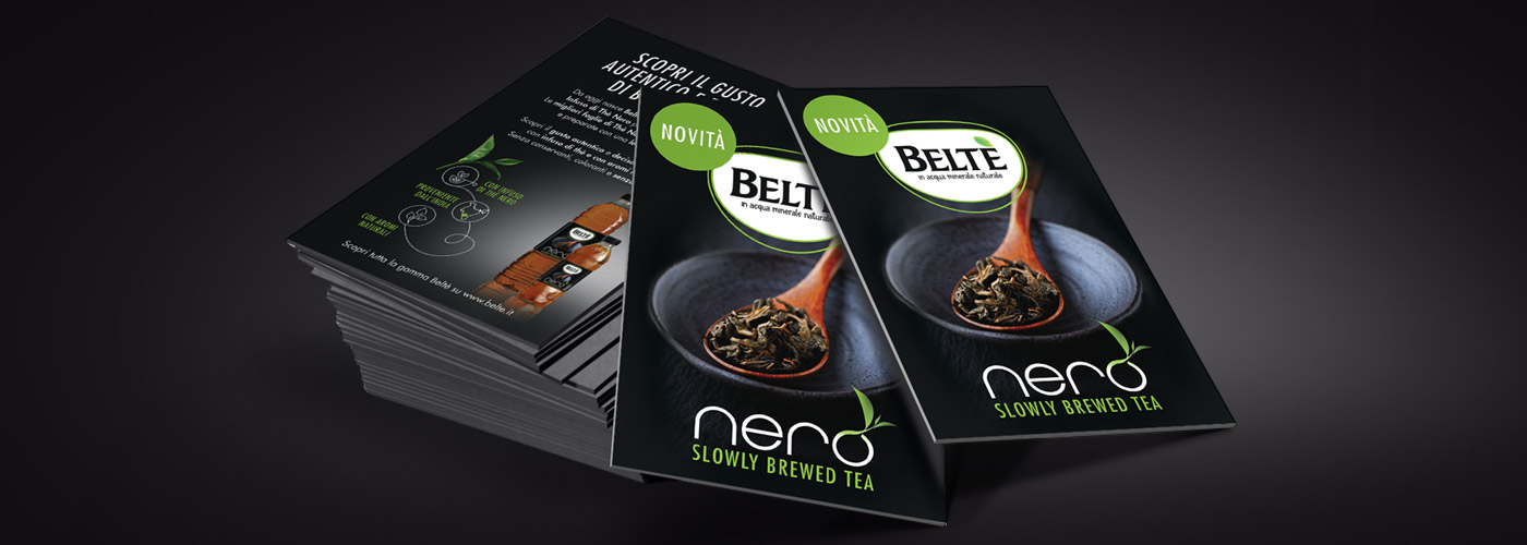 Packaging Design Belthe nero