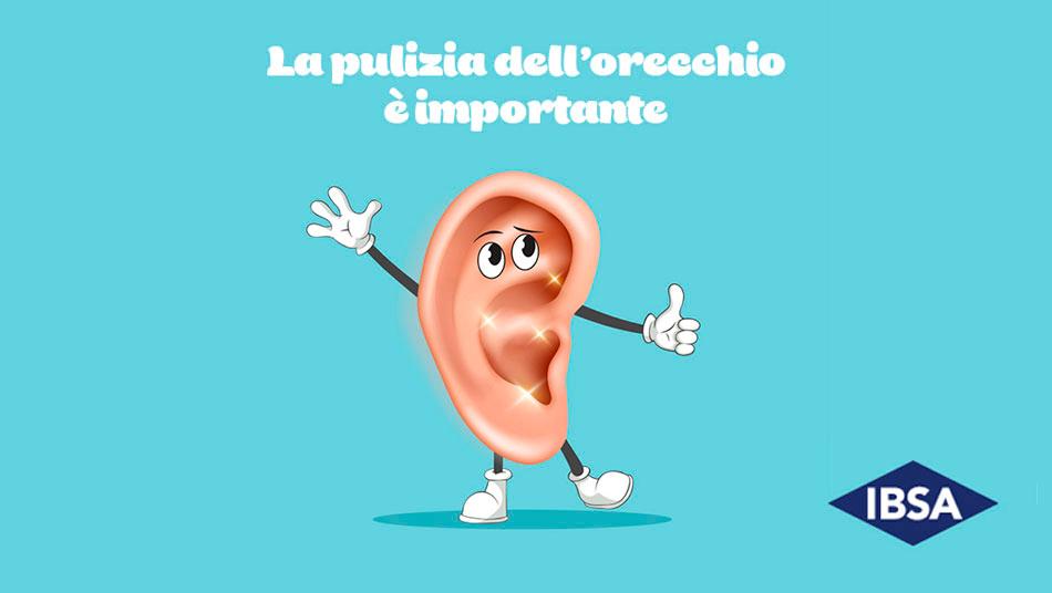 pulizia orecchie ibsa igiene auricolare