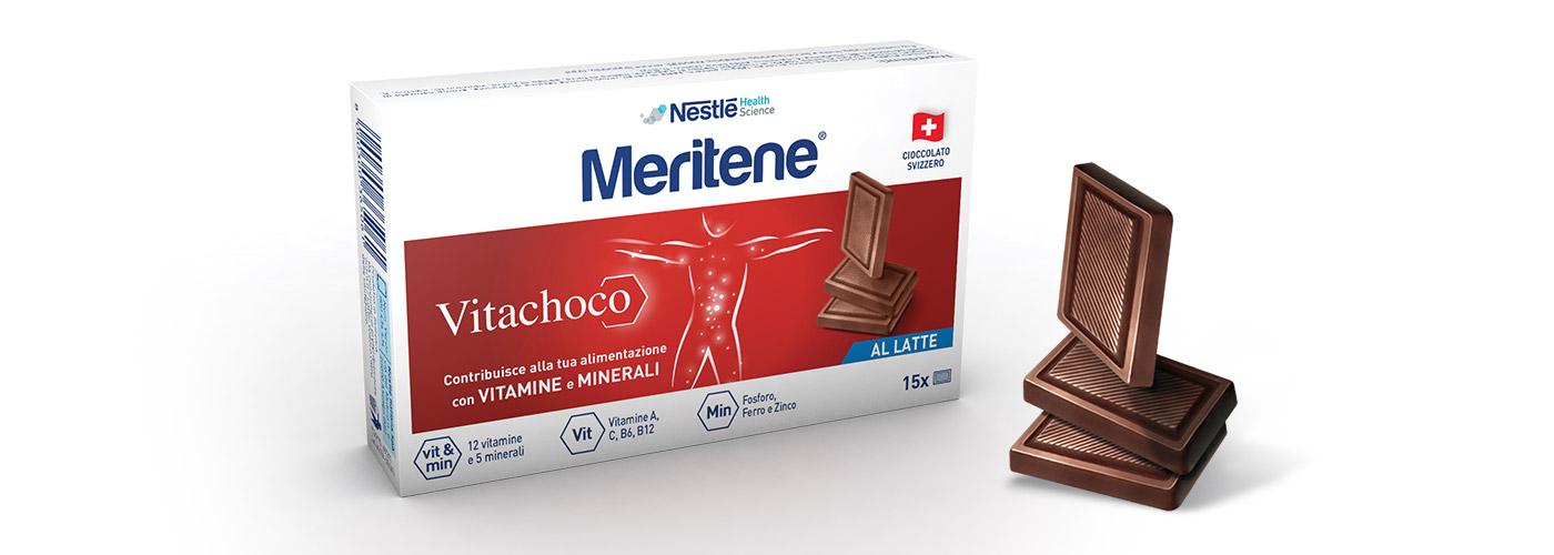 Vitachoco spot TV per Meritene