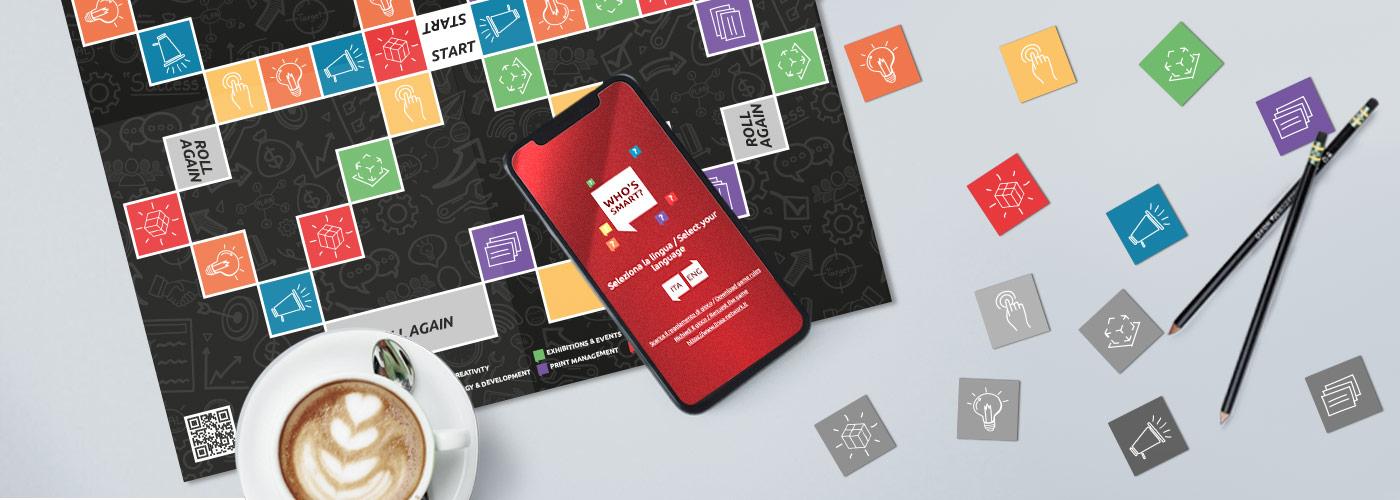 gioco mobile ATC per testare conoscenza comunicazione e creatività