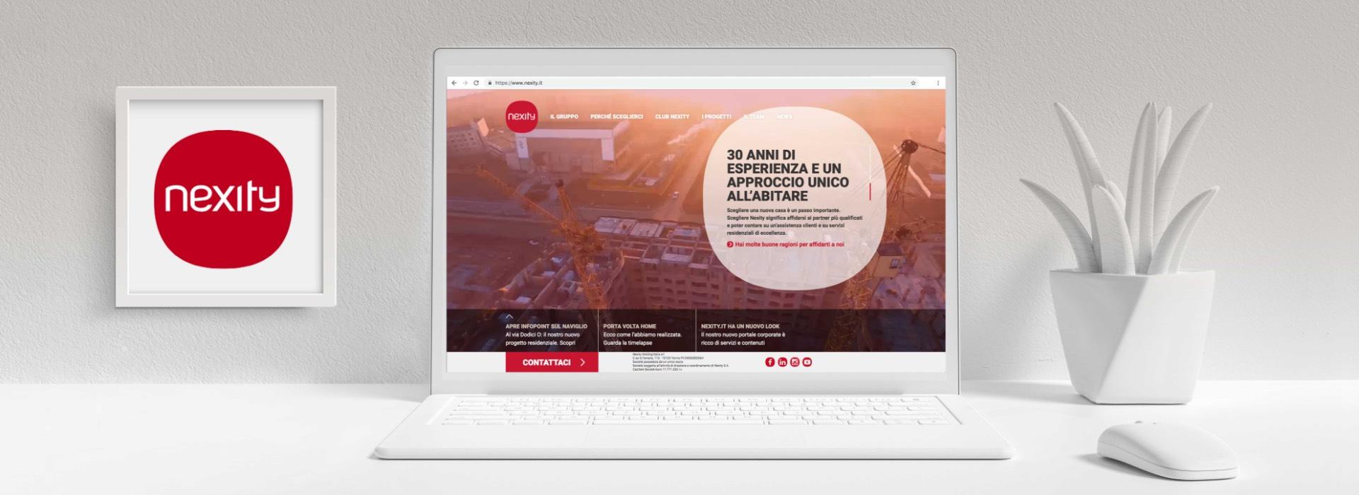 Nexity.it importante player settore immobiliare si affida ad ATC per brand idenity online