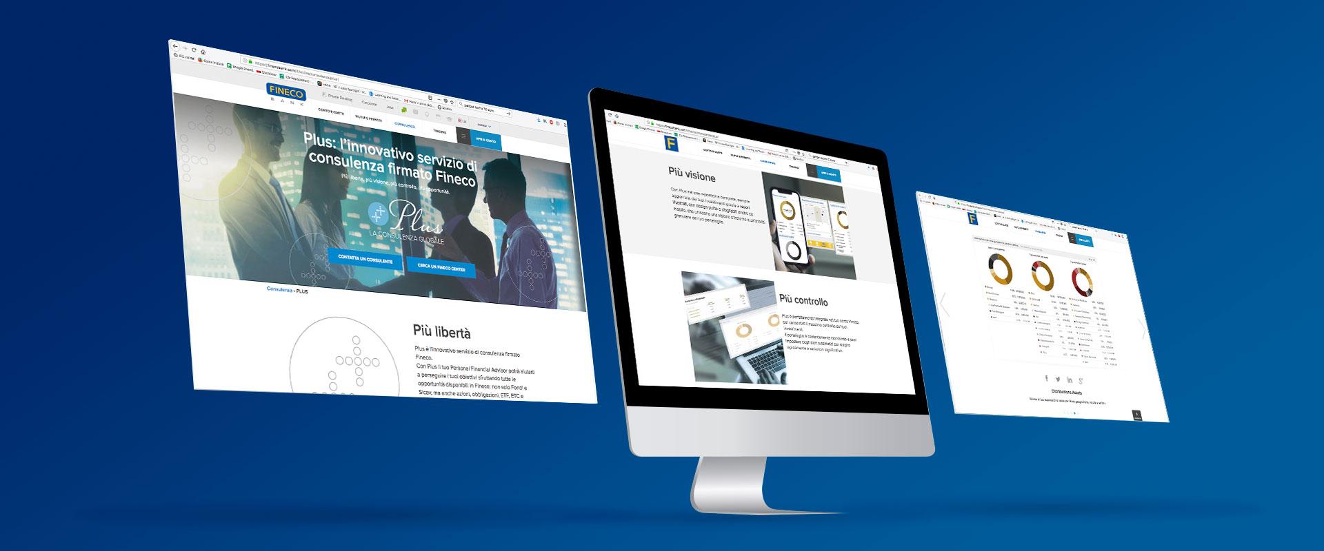 Fineco web site prodotti