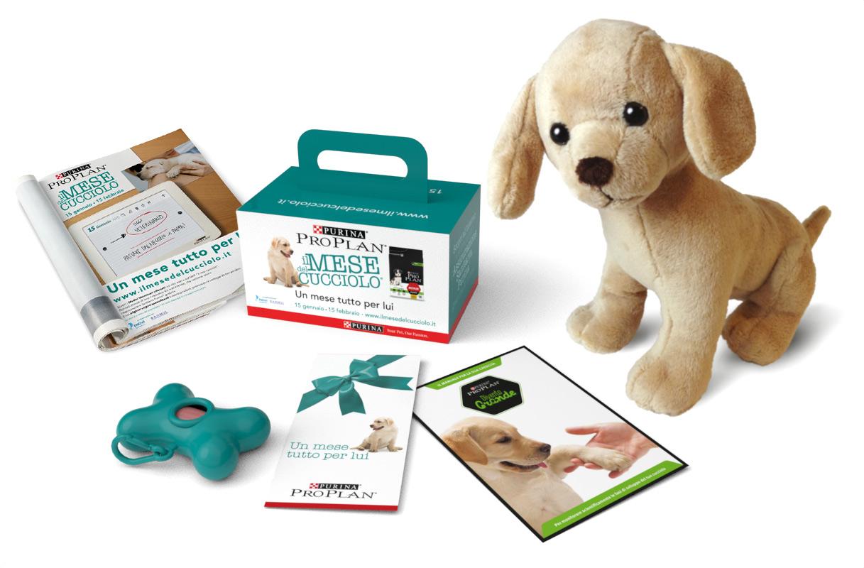 concept graphic design gadget consumer activation veterinari Mese del Cucciolo Purina Pro Plan