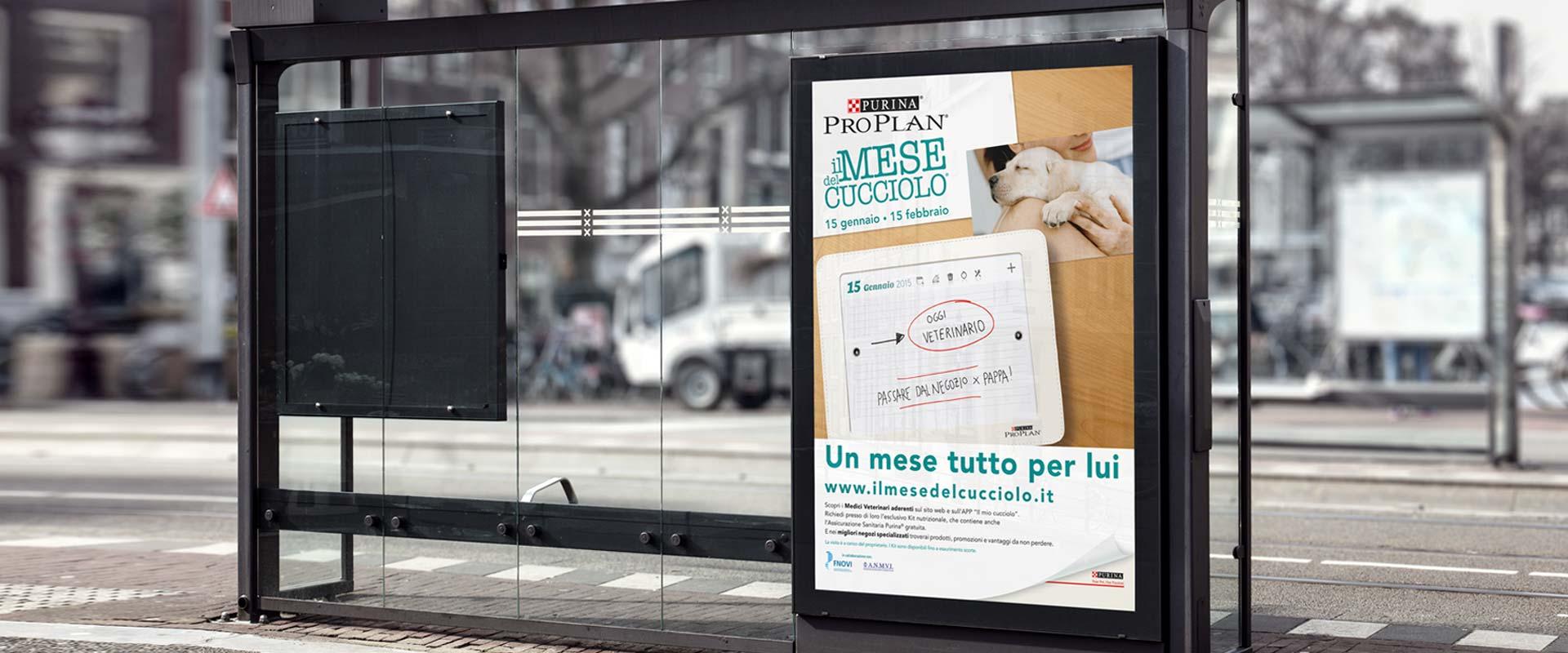 Campagna Mese del Cucciolo Purina Pro Plan concept storytelling