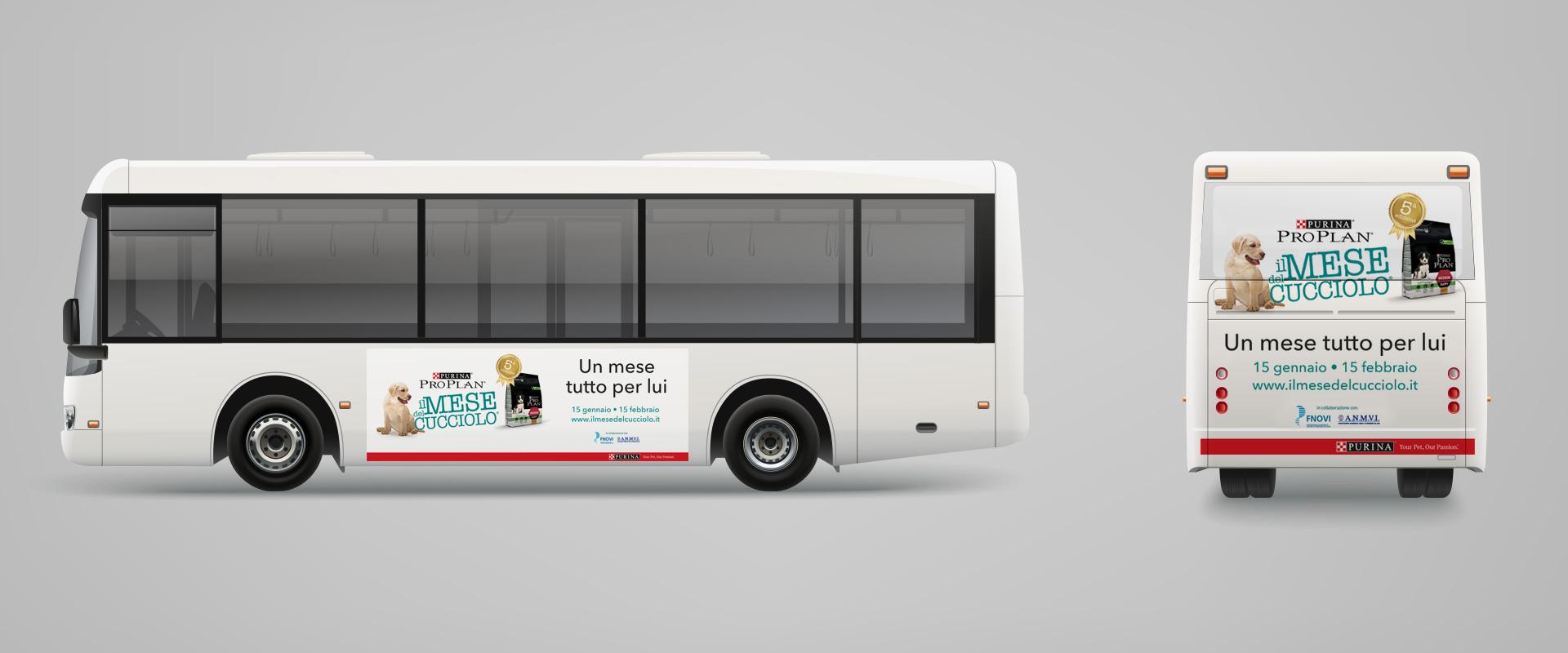 Mese del Cucciolo Purina Pro Plan advertising pubblicità outdoor
