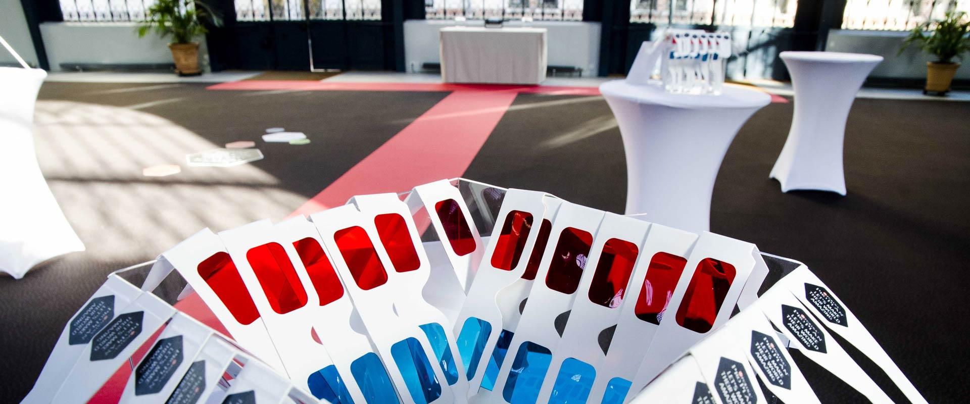 Occhiali 3D evento Purina Pro Plan concept engagement