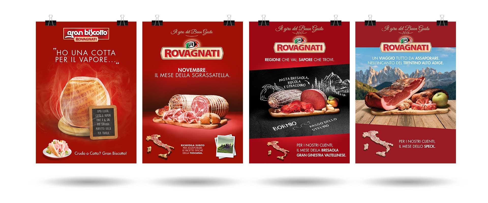 ATC per Rovagnati Gran Biscotto ADV trade, locandine