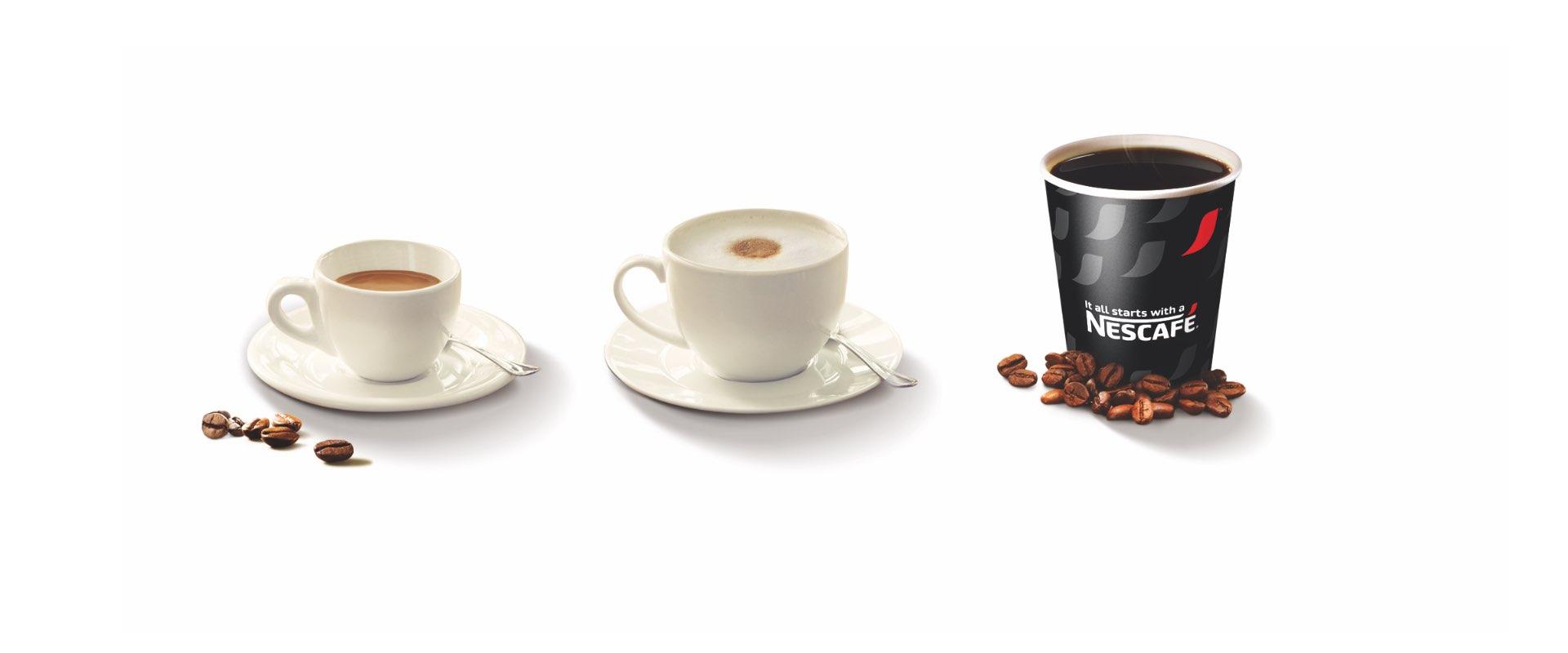 event design miscele in grani Nescafé Nestlé professional SIGEP