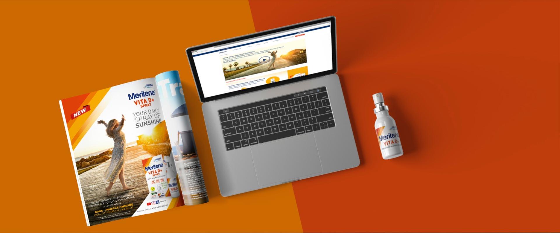 Vita D+ Nestlé Health Science campagna comunicazione adv consumer trade e spot TV