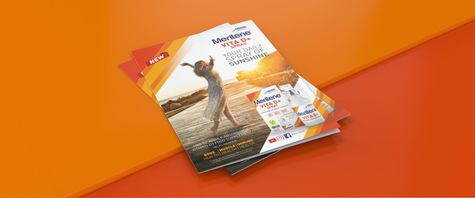 Vita D+ Nestlé Health Science toolkit comunicazione campagna internazionale lancio integratore