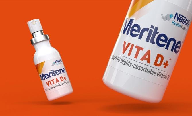 campagna di lancio Meritene Vita D+ Nestlé Health Science