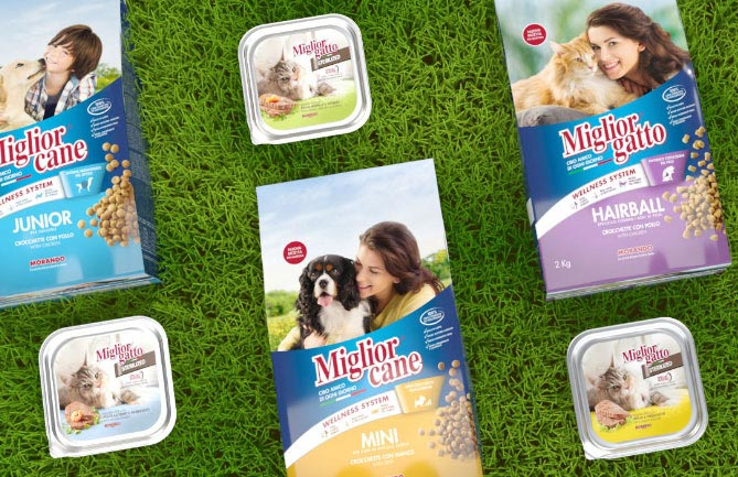 restyling pack migliorcane migliorgatto and launch sterilized Morando